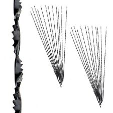 """24 OLSON 5"""" - 130MM / 41TPI SPIRAL SCROLL SAW BLADES PLAIN ENDS. MADE IN GERMANY"""