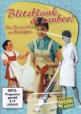 Blitzblank und sauber! - Die Reinlichkeit im Werbefilm DVD NEU + OVP!