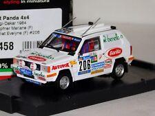 FIAT PANDA 4X4 #206 PARIS DAKAR 1984 BRUMM R458 1:43