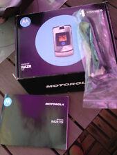 Motorola  RAZR V3i - Silber (Ohne Simlock) Handy
