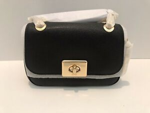COACH Mini Cassidy Crossbody Black NWT F77974