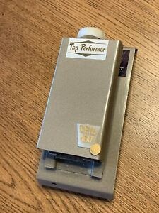 The Top Performer Double Line Break Line Voltage Heating Thermostat - RARE!
