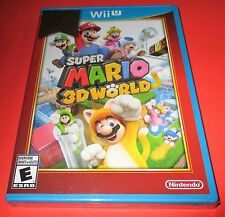 Super Mario 3D World Nintendo Wii U *Factory Sealed! *Free Shipping!