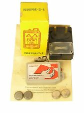 "VINTAGE Dosimeter ""Biri"" keychain, radiometer, based on SBM-10 geiger counter"