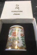 Beautiful Hakutoh Japan Thimble Plus Box