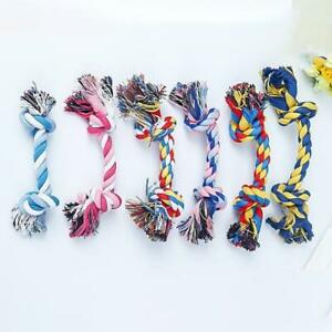 18/23cm Cotton Chew Dog Rope Toy Knot Pet Chewing Puppy Teeth Cleaning Play Ball