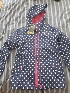 Girls Gelert Rain Coat MAC jacket Age 7-8 BNWT