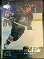 2003-04 Upper Deck Young Guns Alexander Semin Card #219 Capitals Rookie