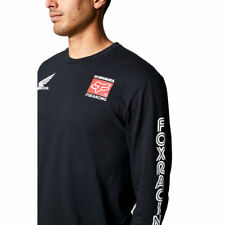 Fox Racing Men's Yoshimura Honda Long Sleeve T Shirt Black Clothing Apparel R