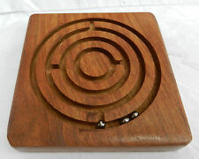 Wooden Maze Game Traditional Toy / Stocking Filler - BNWT