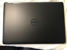 Dell Latitude E5450 Laptop cover BLACK Vinyl Lid Skin Cover Decal fits