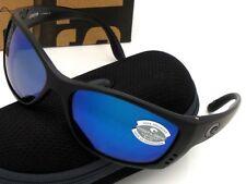NEW Costa Del Mar FISCH Blackout & 580 Blue Mirror Glass 580G