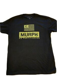 Caffeine And Kilos Murph Limited Edition Weightlifting Men's T-Shirt Size Large