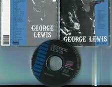 George Lewis CD jam sessions © 1991 storyville swe-18 - track # stcd 6019
