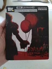It: Chapter Two Steelbook BEST BUY SOLD OUT (4K Ultra HD Blu-ray, 2019) OOP!