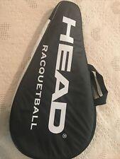 Head Racquetball Liquid metal with Black Zip Case