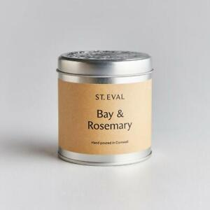 ST EVAL Scented Candle Tin - Bay and Rosemary