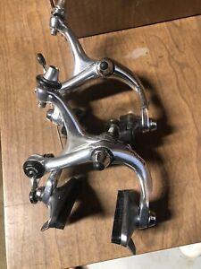 Vintage Road Bicycle Parts. 1980s Shimano DURA ACE BR-7400 Brake calipers