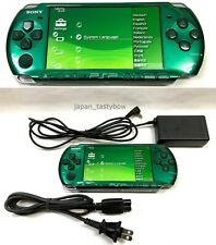 SONY PSP Playstation Portable Spirited Green PSP - 3000 SG Cable Console