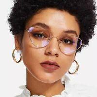 Retro Myopic Optical Glasses Frame Cat Eyes Style Eyeglasses Solid Eye Accessory