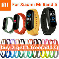 For Xiaomi Mi Band 5 Various Replacement Wristband TPU Watch Strap Bracelet 23CM
