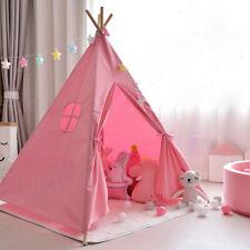 Tipi Kinderzelt Spielzelt Babyzelt Indianerzelt Prinzessin Spielhaus Rosa Zelt