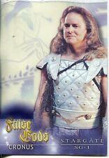 Stargate SG1 Season 5 False Gods Acetate Chase Card F4