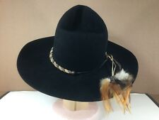 BAILEY HAND CREASED PROFESSIONAL RODEO COWBOY ASSOC. HAT 7 1/8 NASHVILLE COWBOY