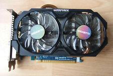 GIGABYTE Geforce GTX 750 Ti, 2GB DDR5, PCIe Graphics card. FAULTY.