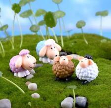 X1 Miniature Dollhouse Random Sheep Garden Craft Fairy Bonsai Plant DIY Decor