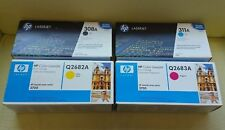 HP 3700 Laser Toner Cartridges Q2670A Q2681A Q2682A Q2683A Full Set
