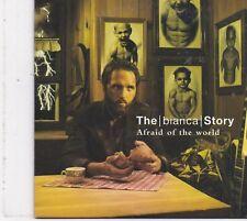 The Bianca Story-Afraid Of The World Promo cd single