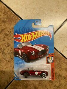 2021 Hot Wheels Super Treasure Hunt Shelby Cobra 427/SC  Q Case READ DESCRIPTION