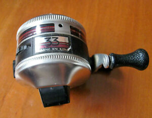 Zebco 33 10 LB Line On Off Bait Alert Anti Reverse Fishing Reel Made In USA