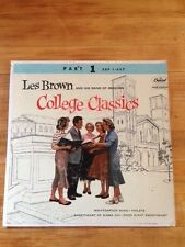 "Les Brown, ""College Classics, Part 1"" extended play Capitol EAP 1-657, NM"