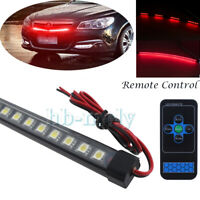 48SMD LED 5050 Waterproof Flash Car Knight Rider Strip Lights Remote Control Red