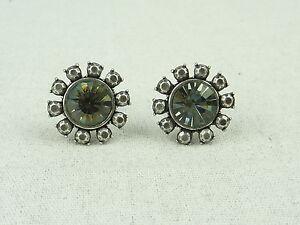 MIMCO Jewellery- Heiress Crystal Stud Earrings Swarovski Crystal- BNWT- Crystal