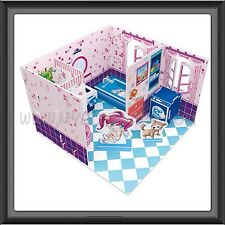 Honey Room Series Easy To Assemble Educational 3D Puzzle (Bathroom ) 41pcs