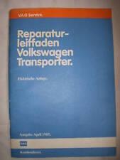 VW T3 Reparaturhandbuch ELEKTRIK+Kabelbäume+Schalttafel