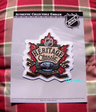 Official NHL 2014 Heritage Classic Patch Vancouver Canucks vs Ottawa Senators
