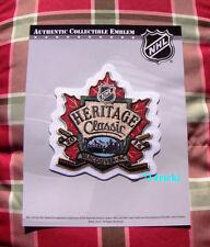 Official NHL 2014 Heritage Classic Patch Vancouver Canucks vs Ottawa Senators
