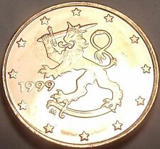 Gem Uncirculated Finland 1999 1 Euro Cent~See All Our European Coins~Free Ship