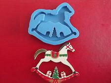 Rocking Horse Large Christmas silicone mould cake decorating