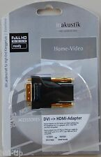 inakustik Exzellenz HDMI DVI Adapter DVI (m) HDMI (w) vergoldet / 0083240