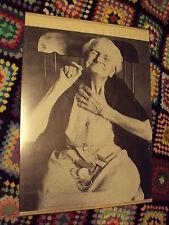 vintAGE Antique 1969 GRANDMA Rolling Smoking MARIJUANA JOINT 20x25.5 EP MARSHALL