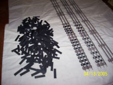 railroad ties 027 scale lionel kline solid wood painted flat black 200 pieces