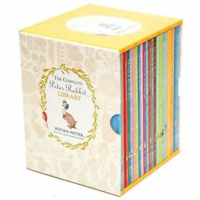 The Complete Peter Rabbit Library by Beatrix Potter - 23 Hardcover Books New