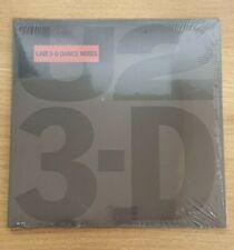 "U2 - 3-D Dance Mixes. 12"" Brand New Vinyl."