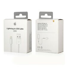 OEM Apple™ Lightning Charging Cable for iPhone 5 6 7 8 X XS XR PLUS + 1m / 2m