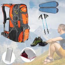 50L Outdoor Sports Backpack Hiking Trekking Travel Bag Knapsack Men Women V5M4